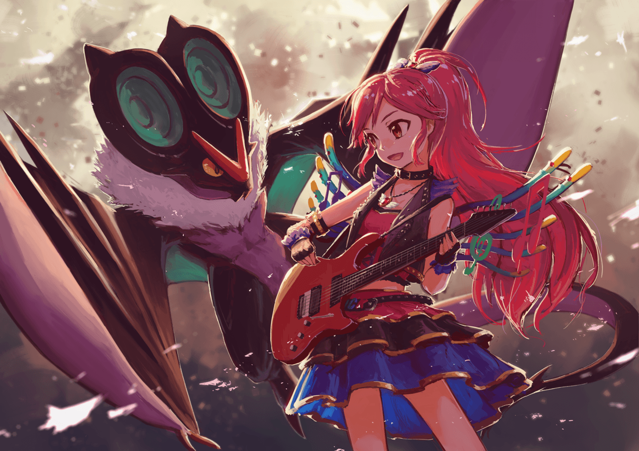 Seira and Noivern Wallpapers and Backgrounds Image
