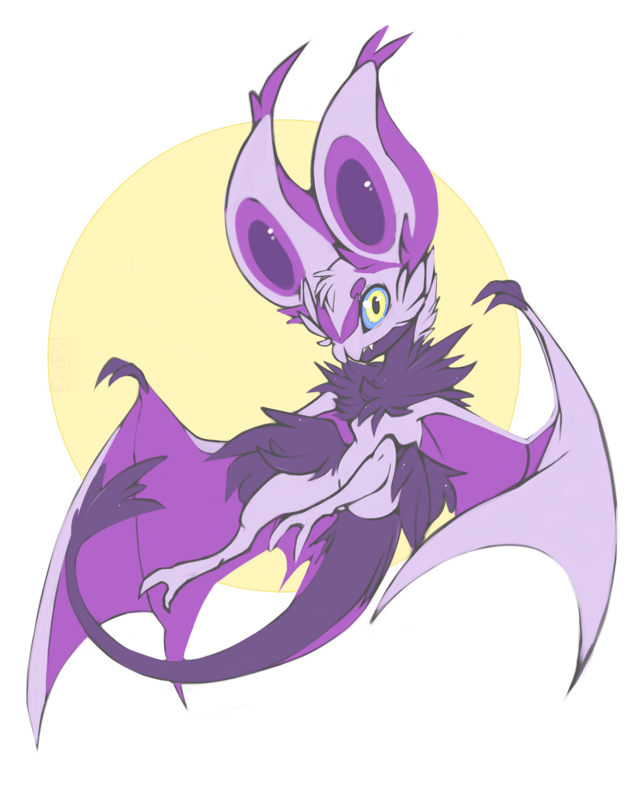 Noibat | Tumblr | Bat Pokemon | Pinterest | Pokémon, Fanart pokemon ...