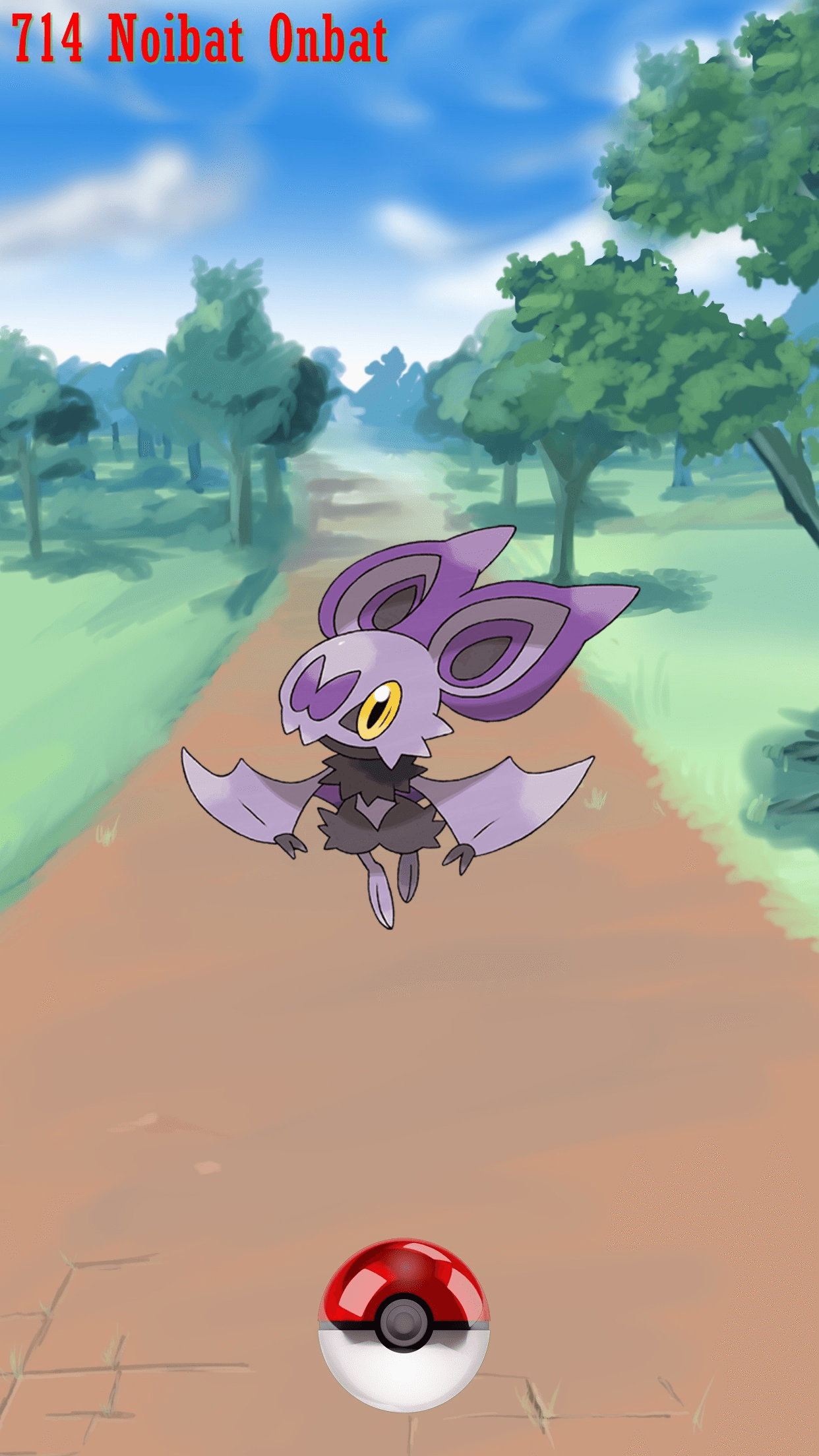 714 Noibat Onbat | Wallpaper