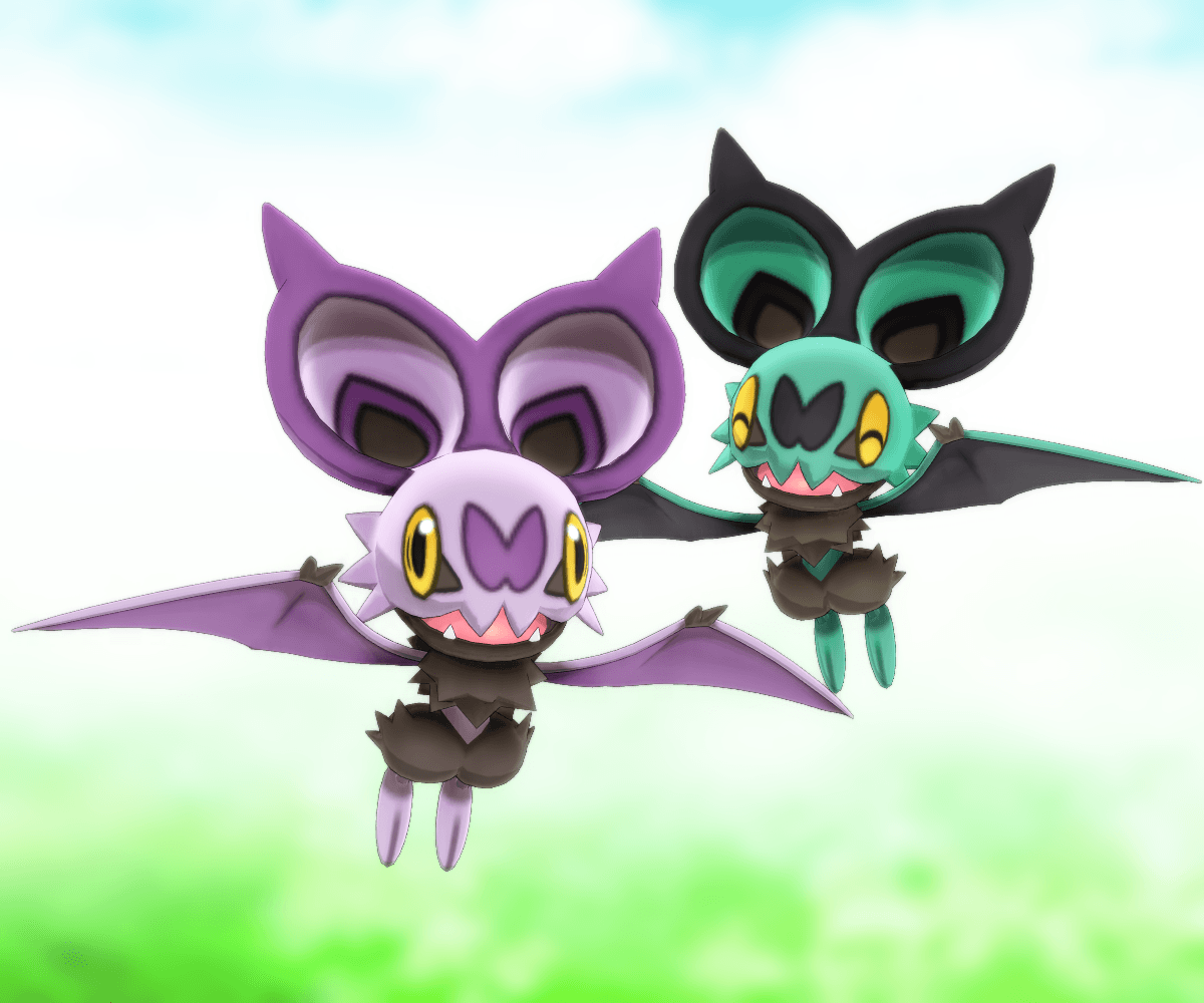 MMD Pokemon - Noibat DL by MMDSatoshi on DeviantArt