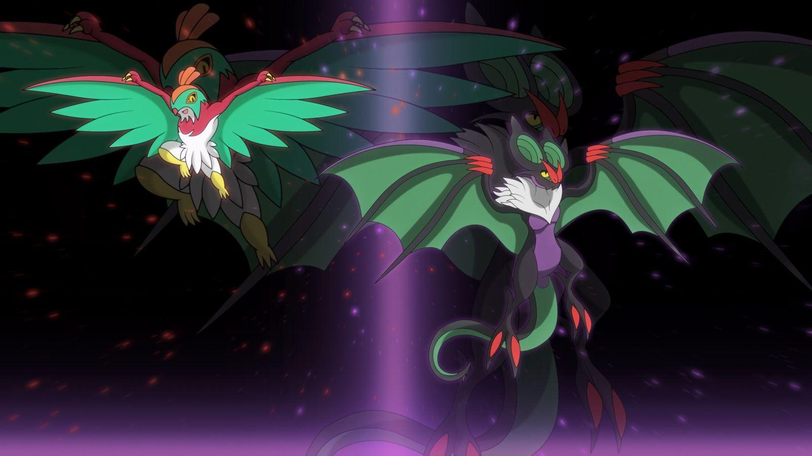 Pokemon XY And Z Update - Finally Ash's Noibat evolving into Noivern ...