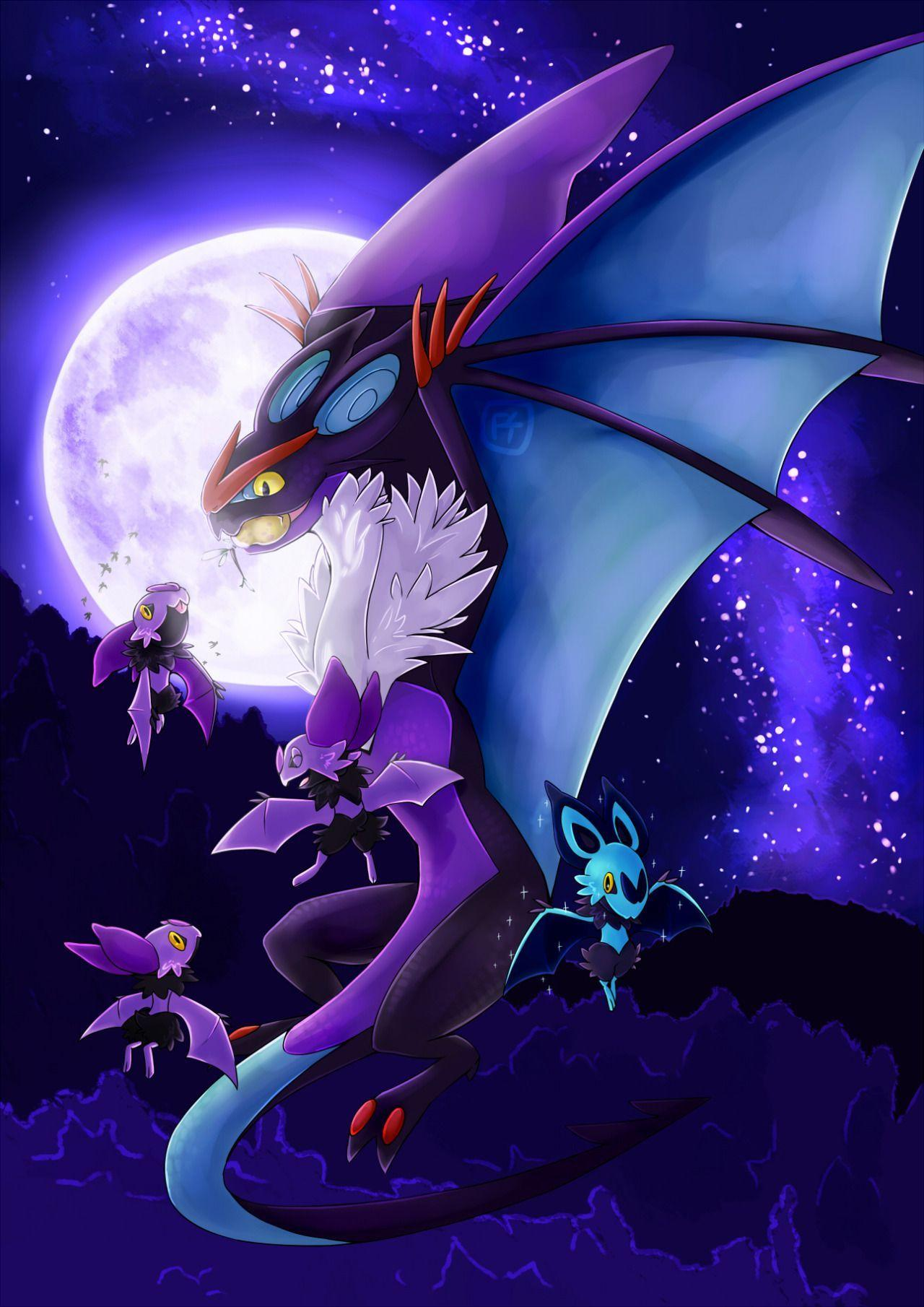 Noivern & Noibat | Pokemon | Pinterest | Pokémon, Anime and Pokemon ...