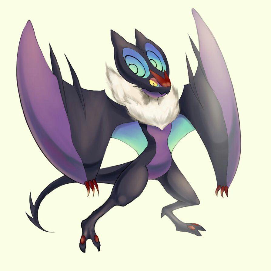 This is a noivern he belongs to Raith and he goes by Rimpact he is
