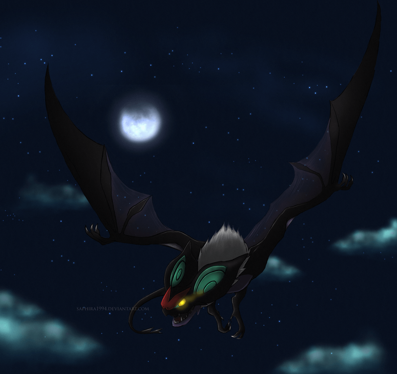 Any awesome Noivern or Zoroark wallpapers out there? : pokemon