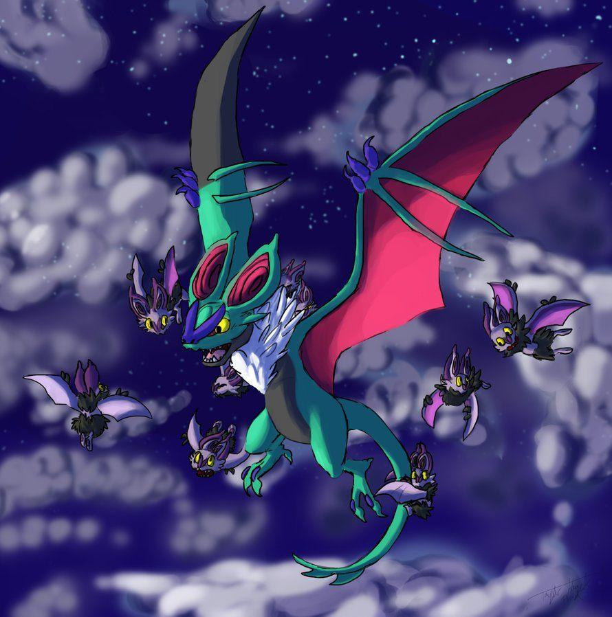 Shiny Noivern by Plaid