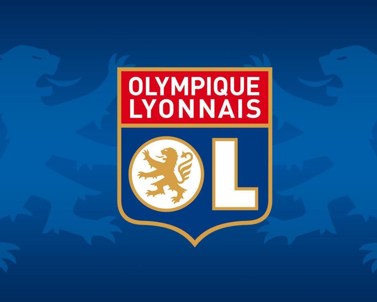 Olympique Lyon Logo Sport Wallpapers Hd Desktop 1280x1024