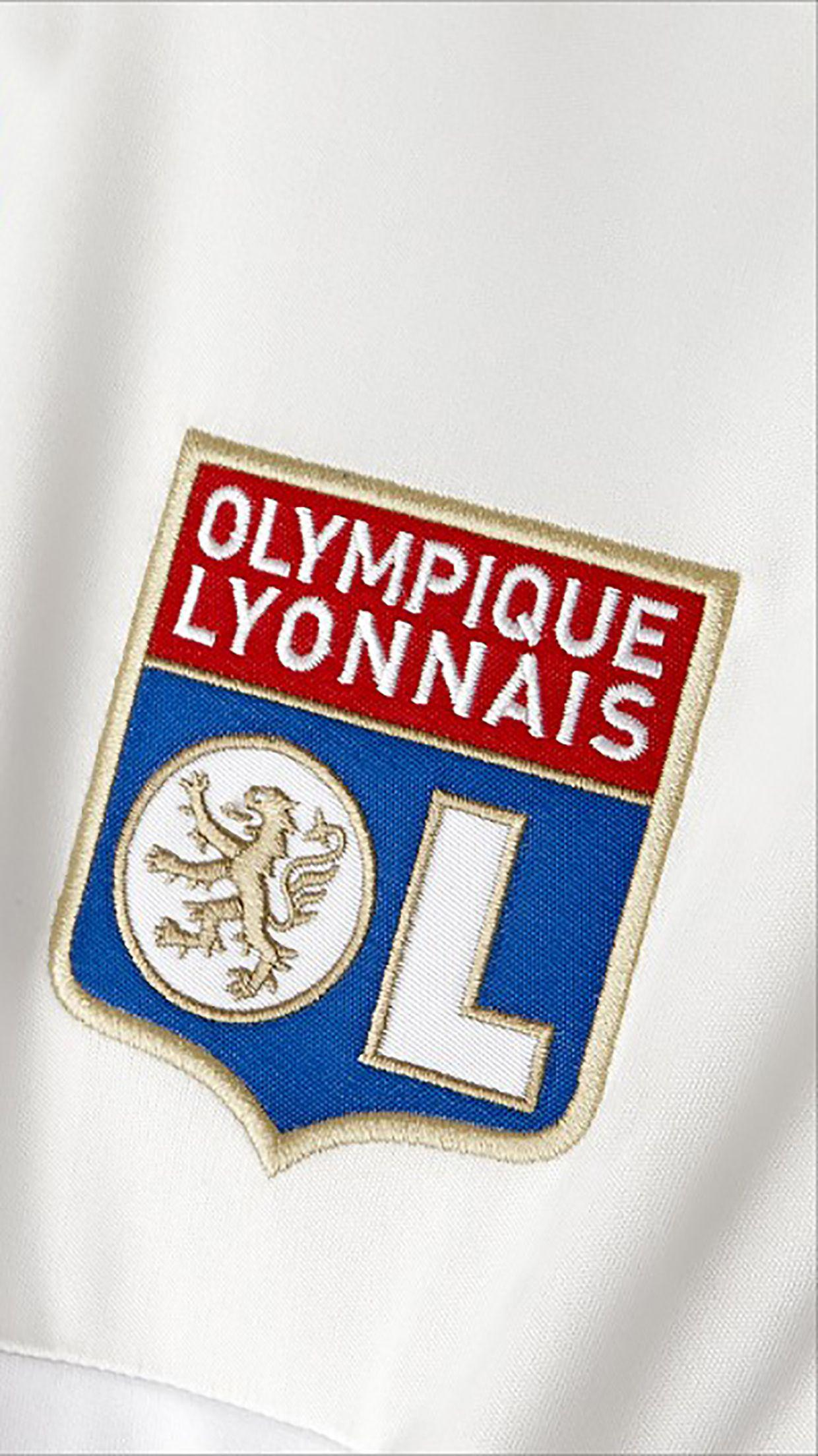 Olympique Lyonnais : Logo 1 Wallpapers for iPhone X, 8, 7, 6