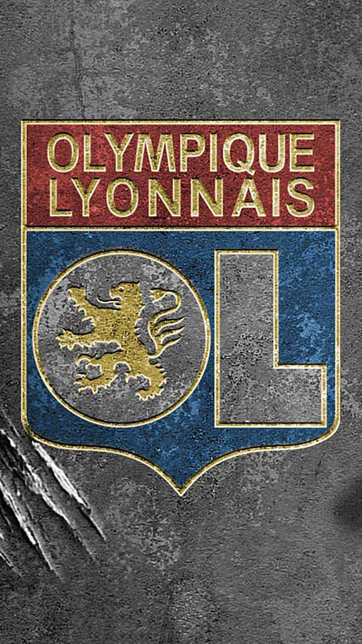 Olympique Lyonnais : Logo 2 Wallpapers For Iphone X, 8, 7, 6