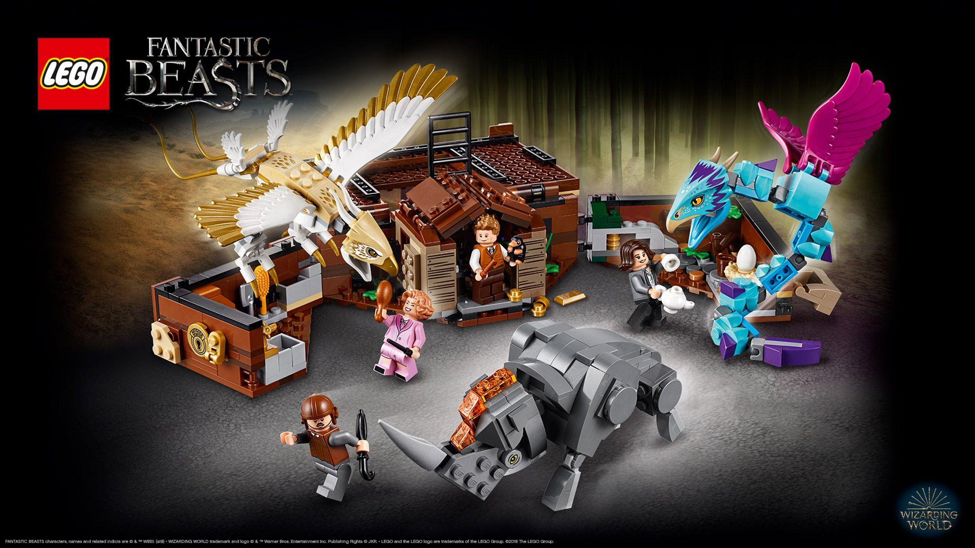 75952 Newt´s Case of Magical Creatures - Wallpapers - LEGO® Harry ...