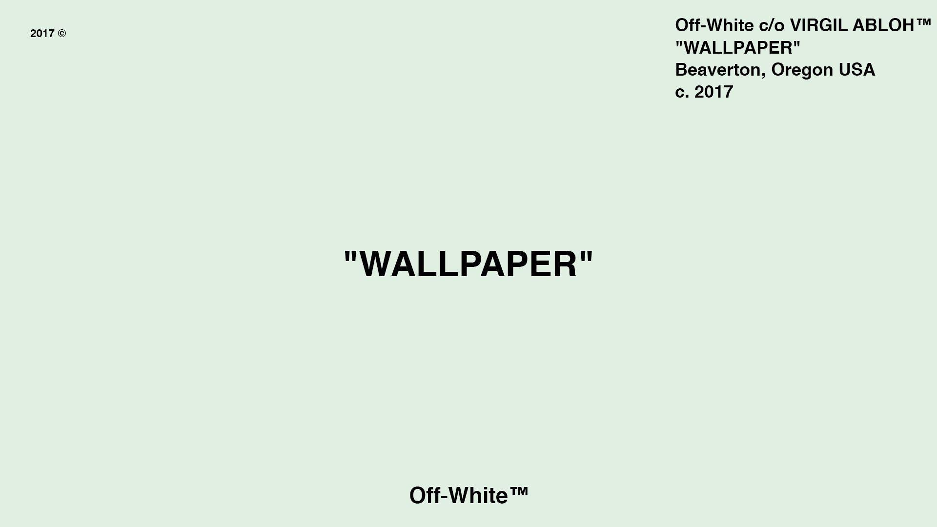 Off White Wallpaper Virgil Abloh Best Wallpaper Foto In 2019