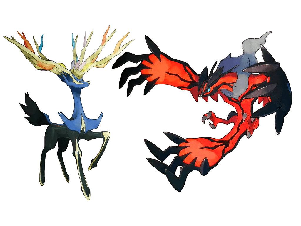 Legendary Pokemon image Xerneas and Yveltal HD wallpapers and