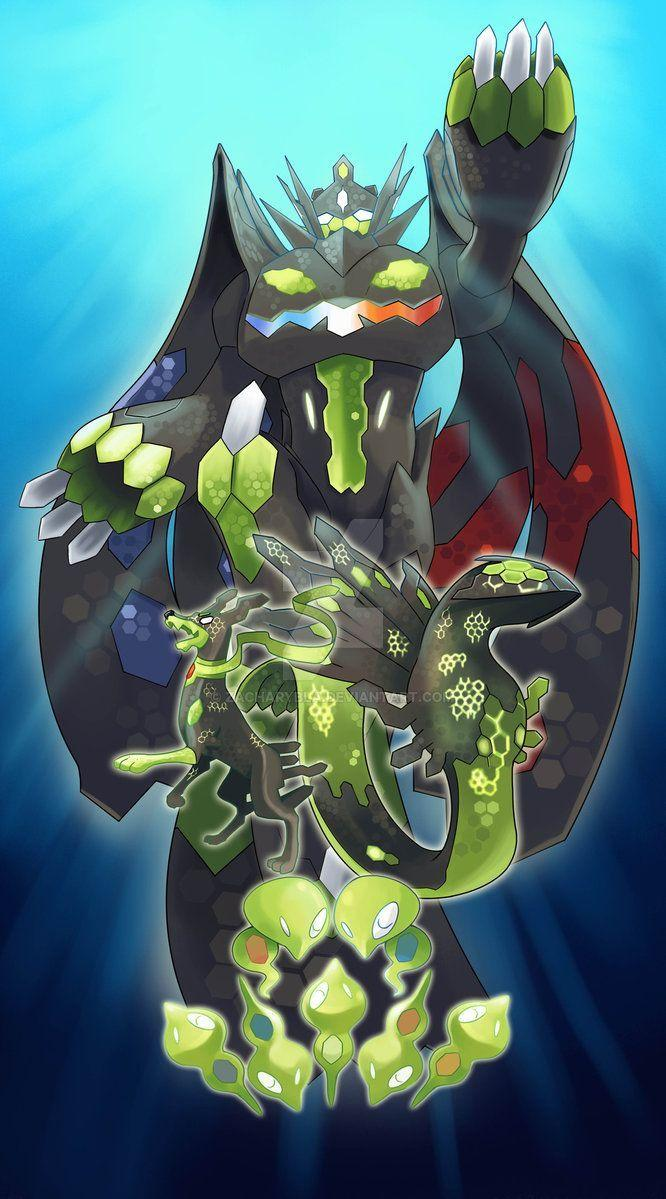 Zygarde all forms by zacharybla on DeviantArt | Choose your Starter ...