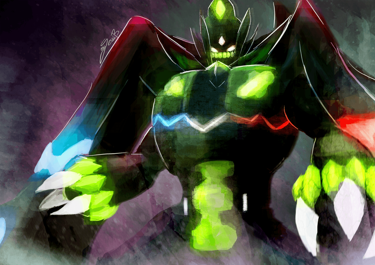 Super Perfect Cell VS Perfect Chaos VS Zygarde Complete Forme ...