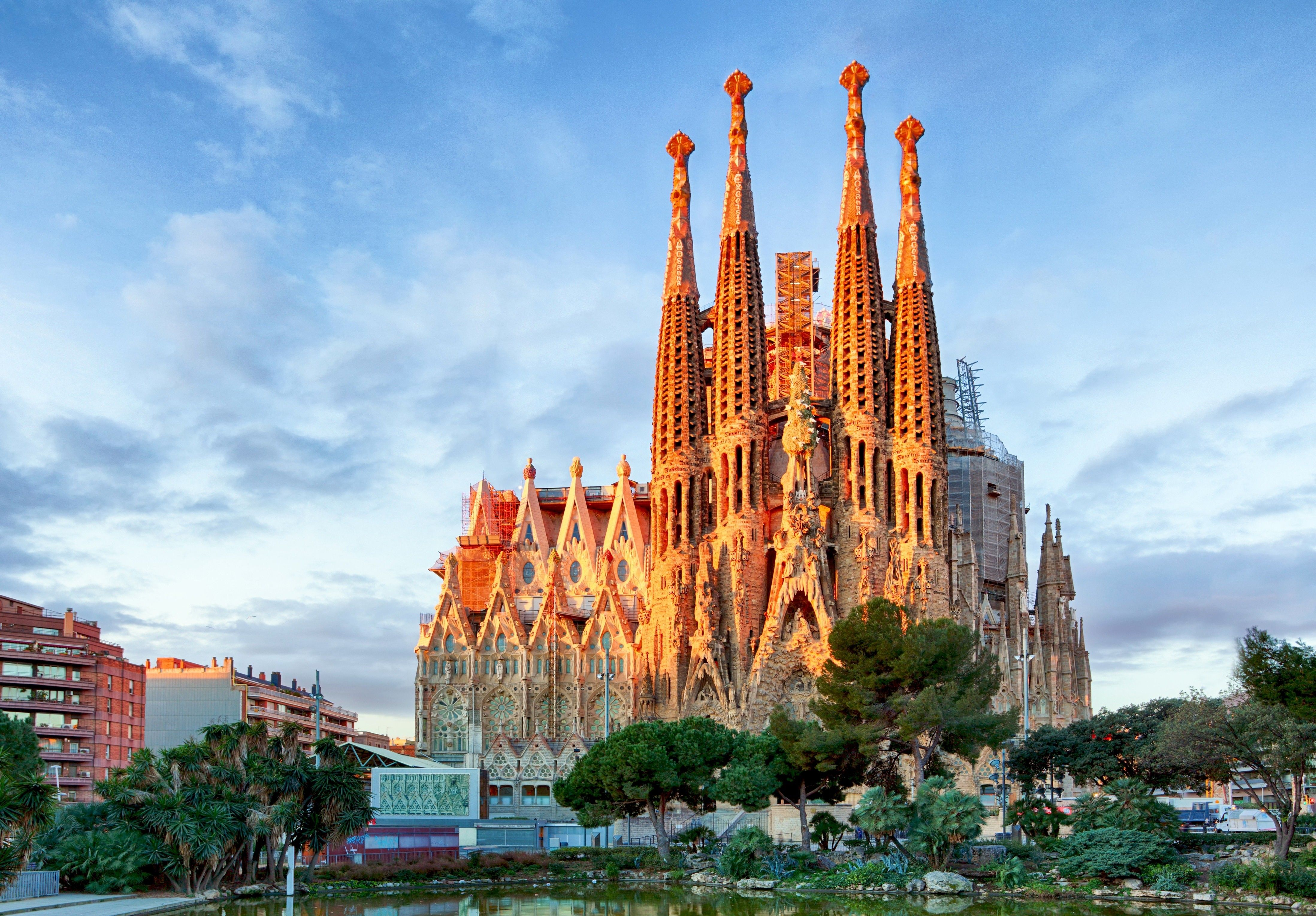 Sagrada Familia Wallpapers Wallpaper Cave