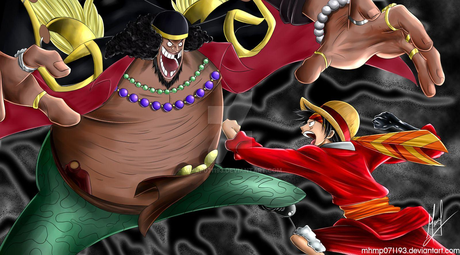 Gambar Blackbeard Marshall D. Teach One Piece Wallpapers