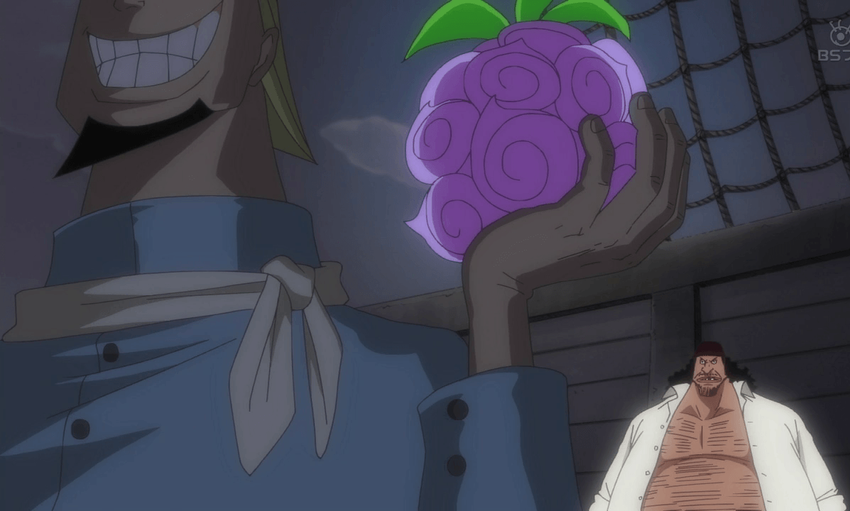 How do Blackbeard Pirates Steal devil fruits?