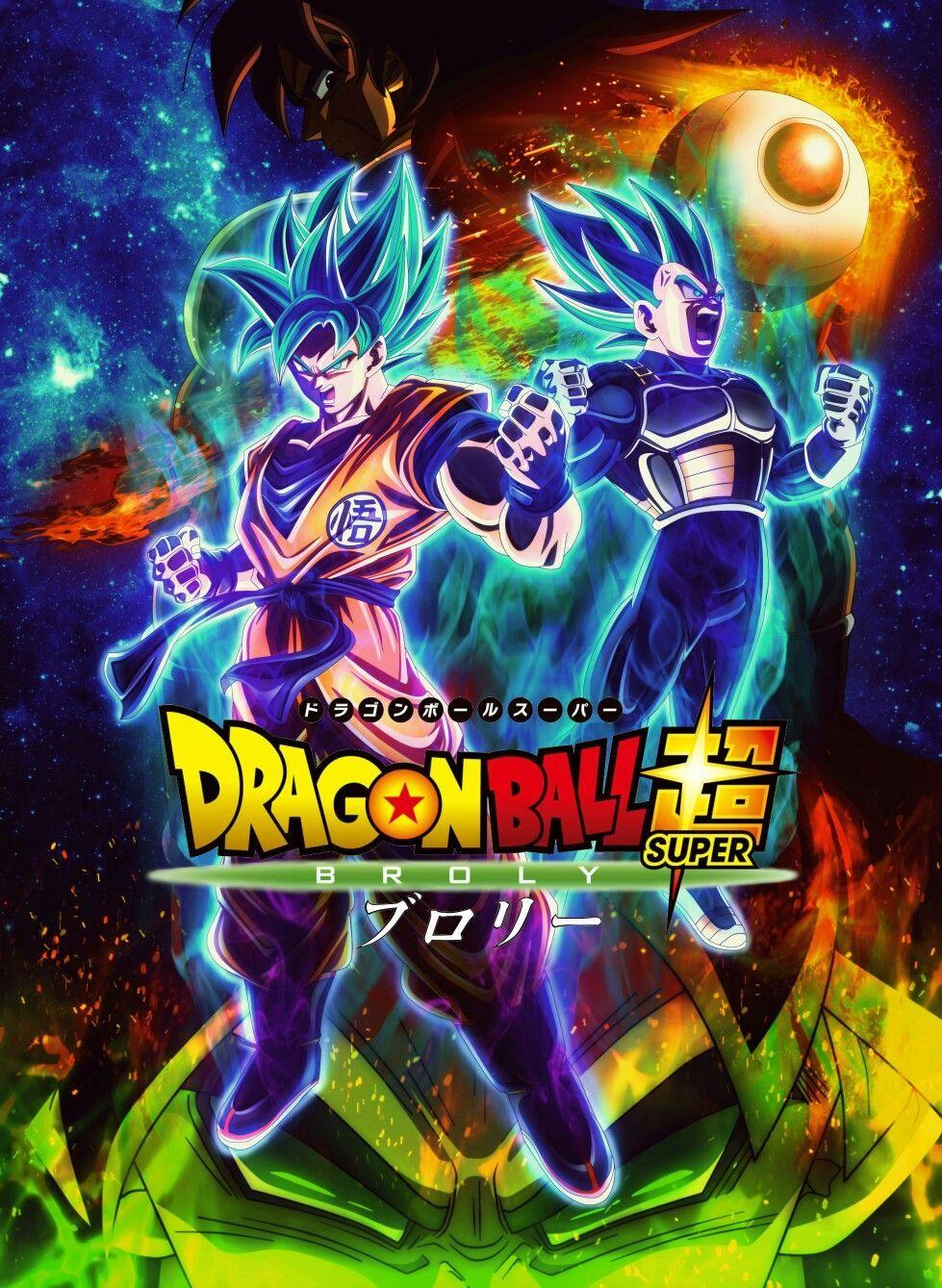 Dragon Ball Super Broly Movie Wallpapers Wallpaper Cave