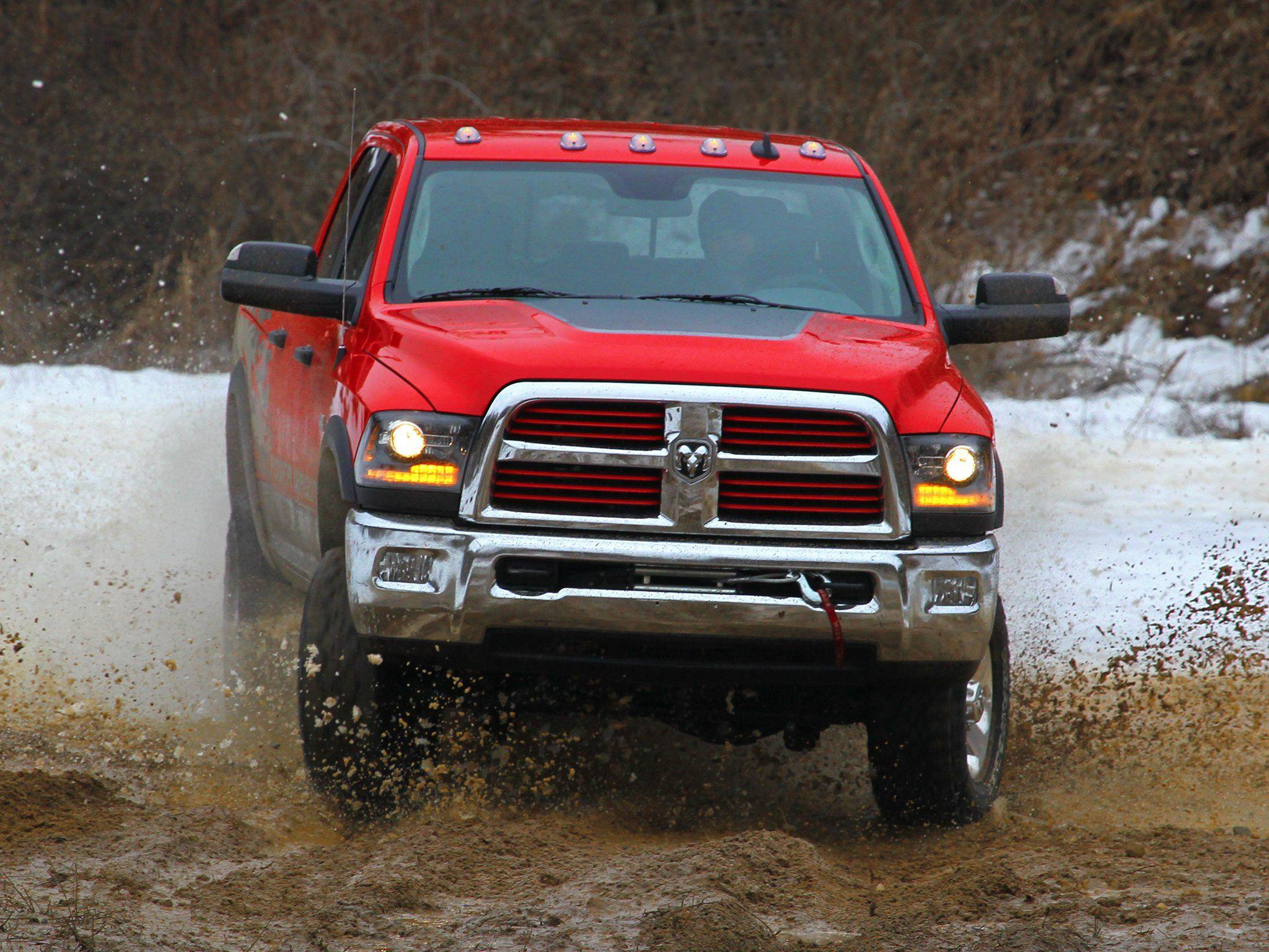 2014 Dodge Ram 2500 Power Wagon pickup 4x4 ds wallpapers