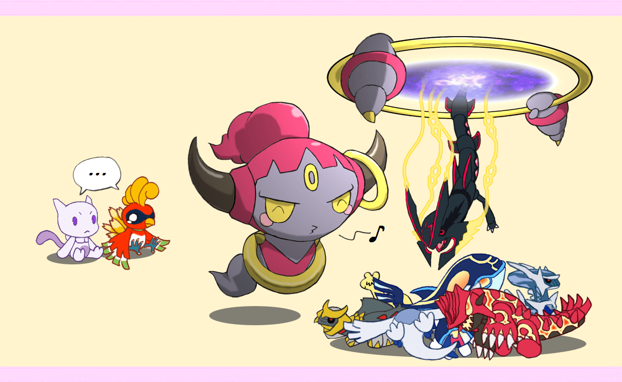 Hoopa spawning some Legendaries | Pokémon | Know Your Meme