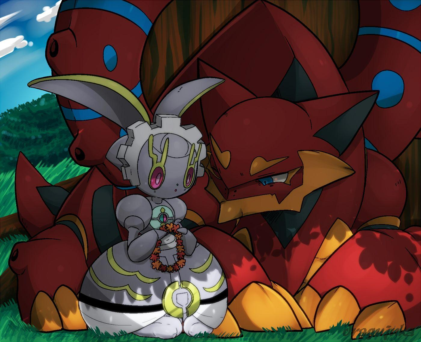 Volcanion Hd Wallpapers Wallpaper Cave