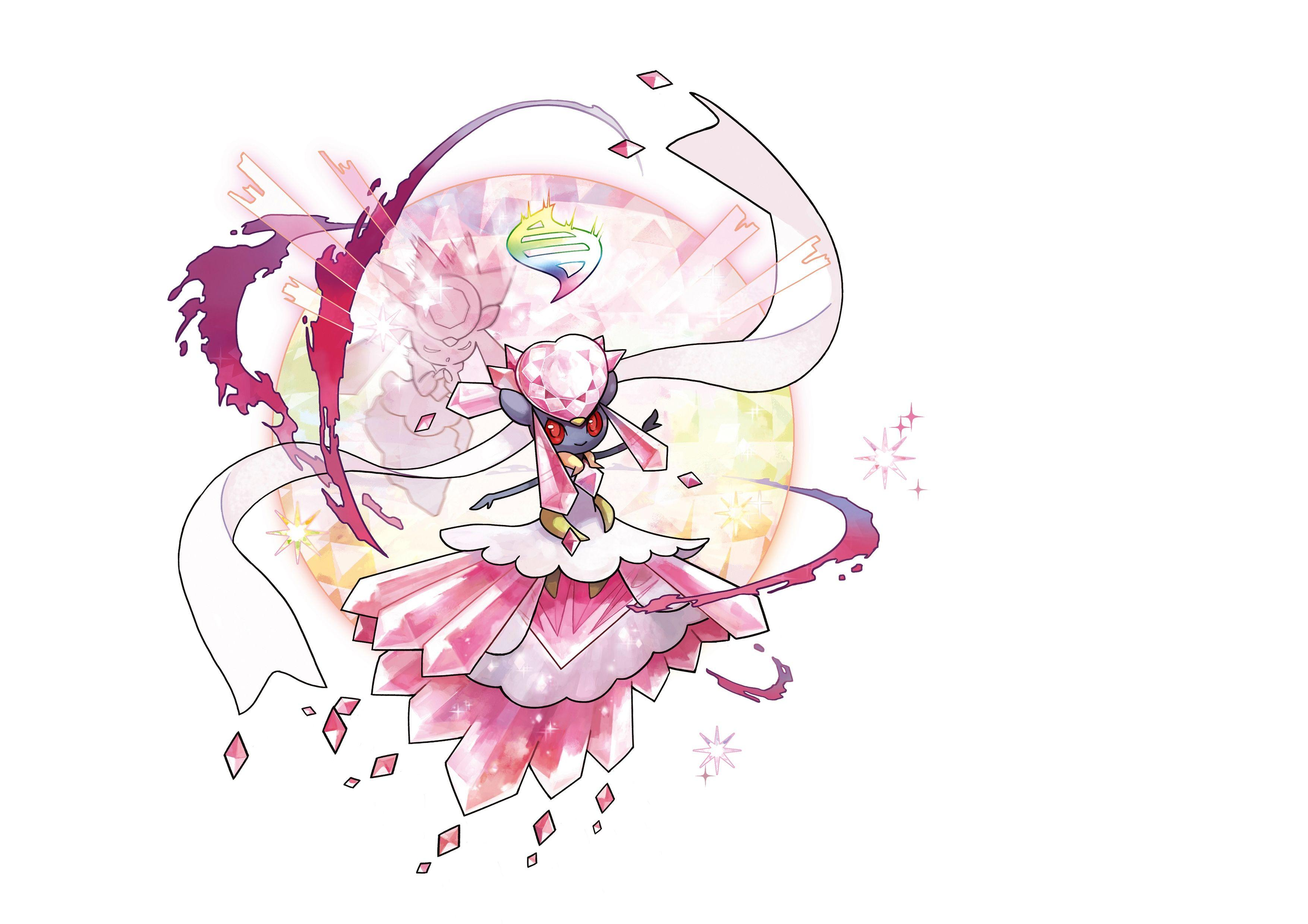 Pokémon image Mega Diancie HD wallpapers and backgrounds photos