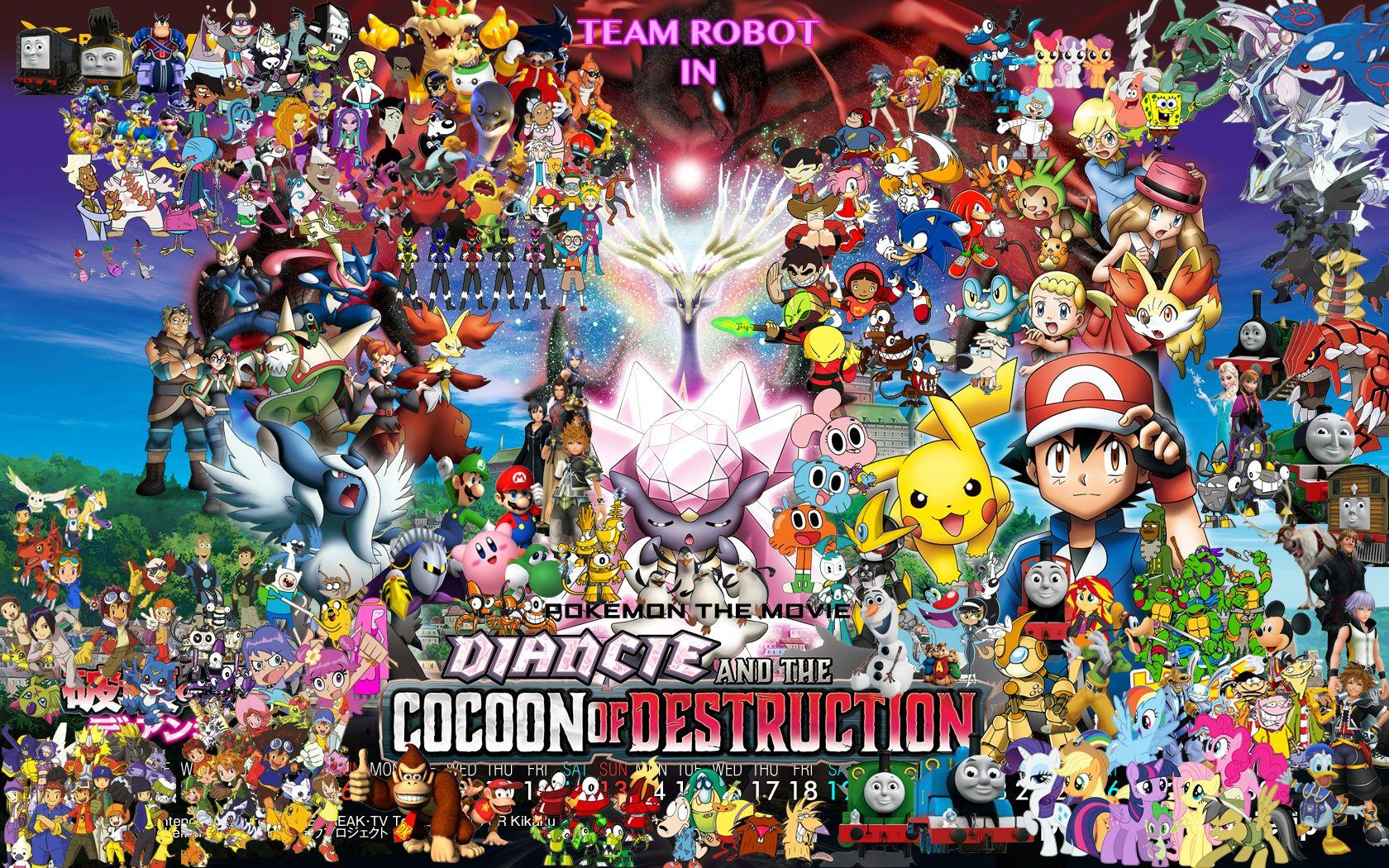 Team Robot in Pokemon: Diancie & The Cocoon of Destruction