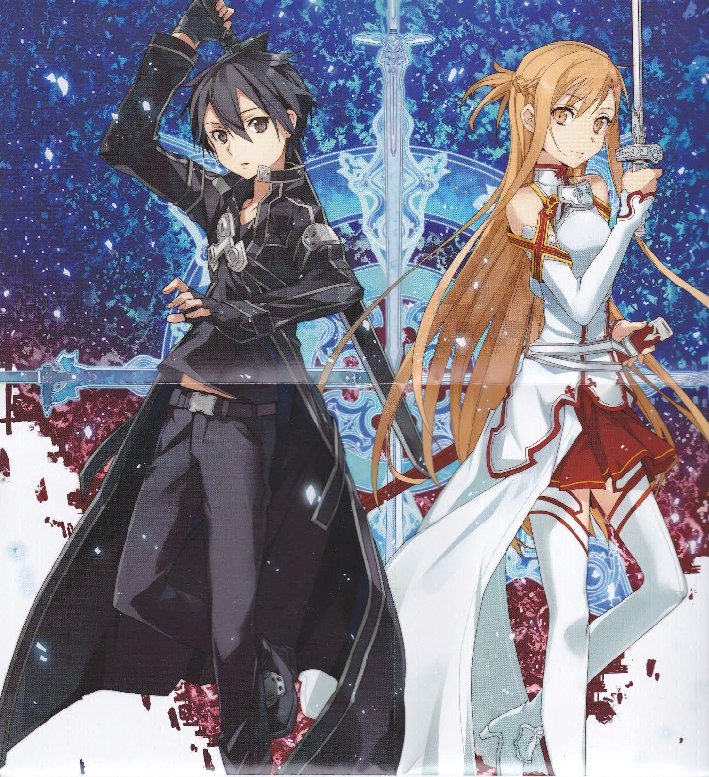 Kirito And Asuna Wallpapers - Wallpaper Cave