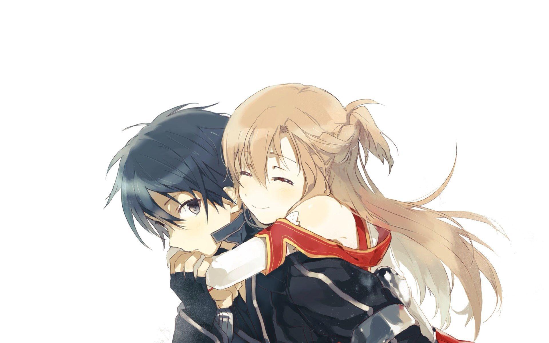 Kirito And Asuna Wallpapers Wallpaper Cave