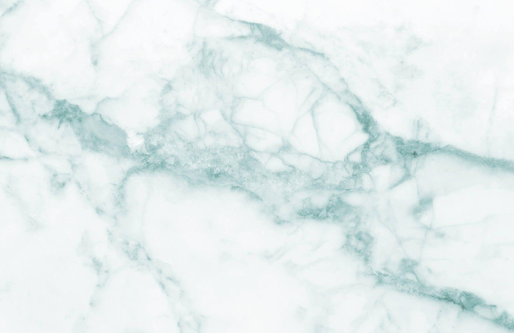White & Green Marble Wallpapers Mural
