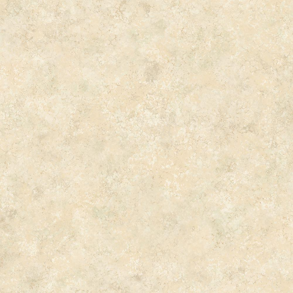Kenneth James 60.8 sq. ft. Marmor Cream Marble Texture Wallpapers