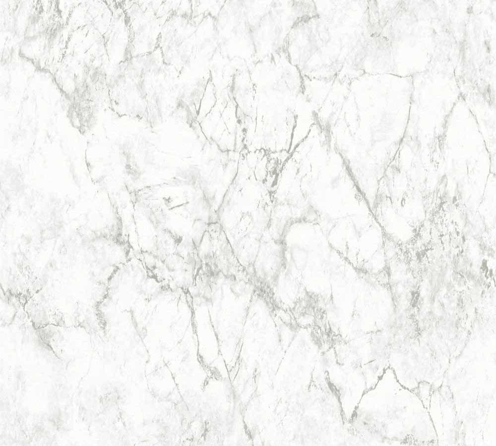 Wallpapers marble stone white beige grey Neue Bude 2.0 36157