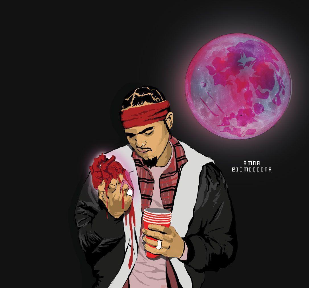 Heartbreak on a full moon | Future husband | Pinterest | Chris brown .