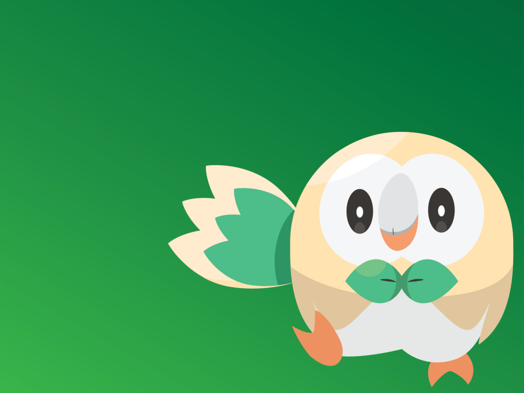 Rowlet by Art-of-HawK on DeviantArt
