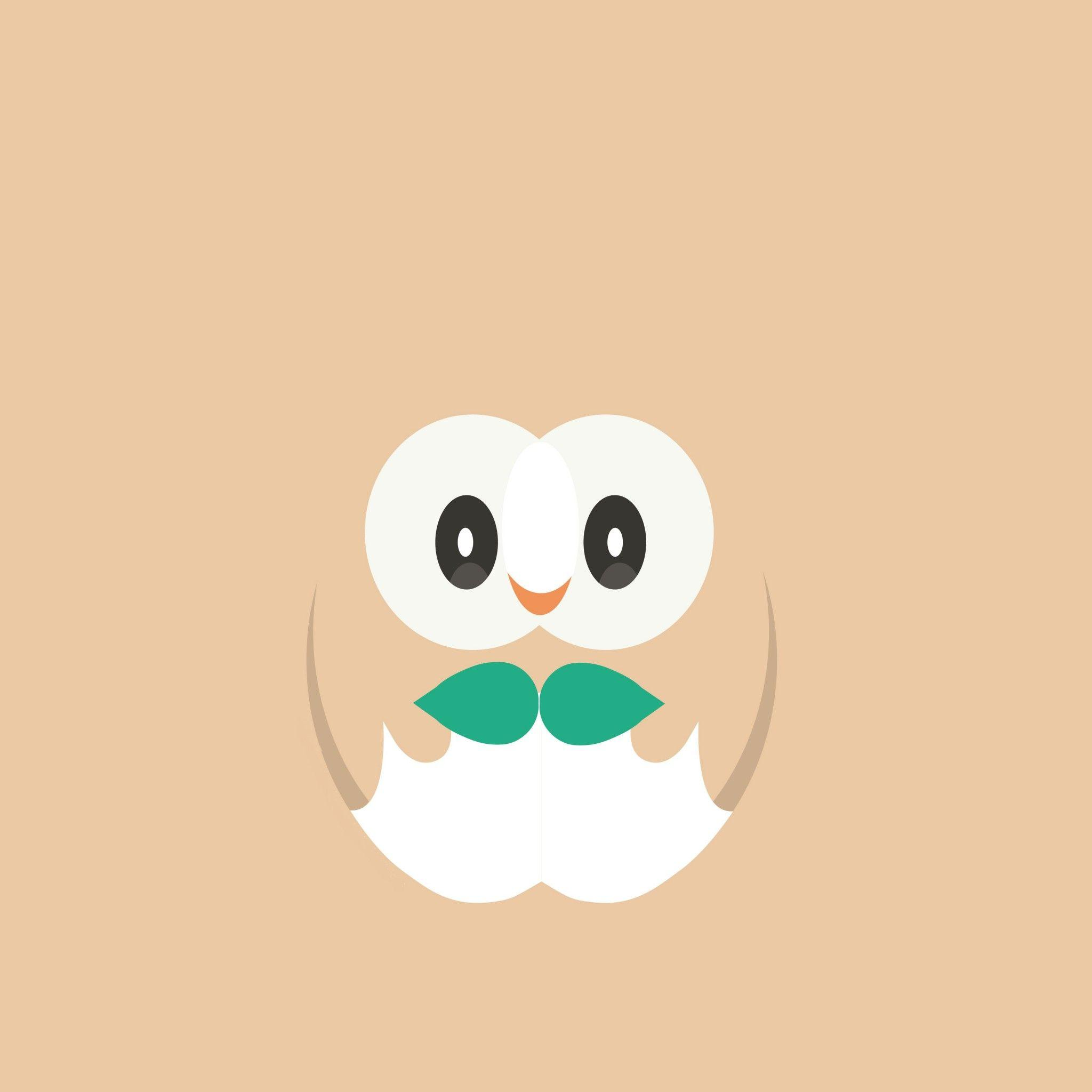 Download Rowlet Pokemon 2048 x 2048 Wallpapers - 4709160 - pokemon ...