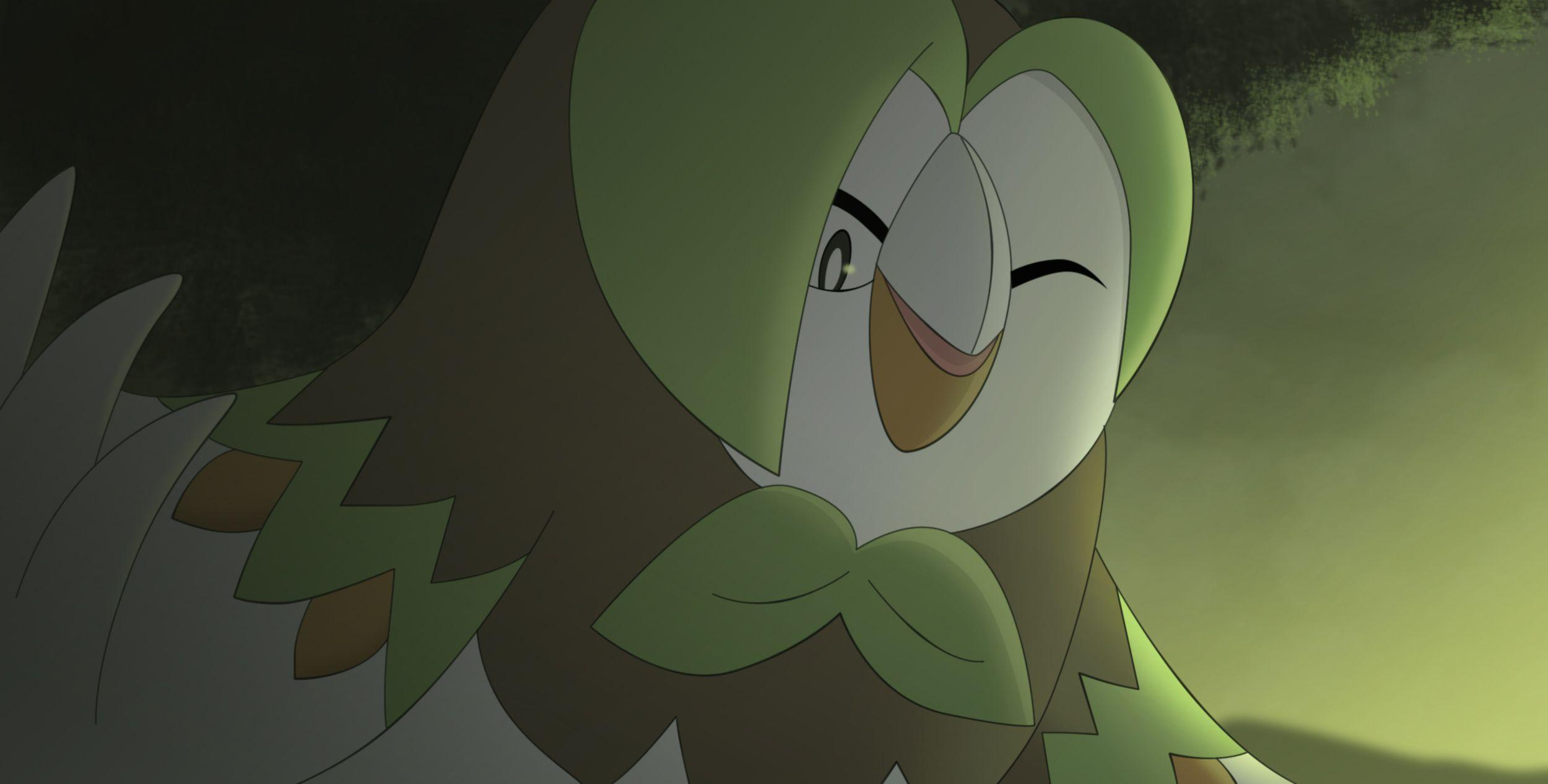 Rowlet's evolution Dartrix! HD Wallpaper | Background Image ...
