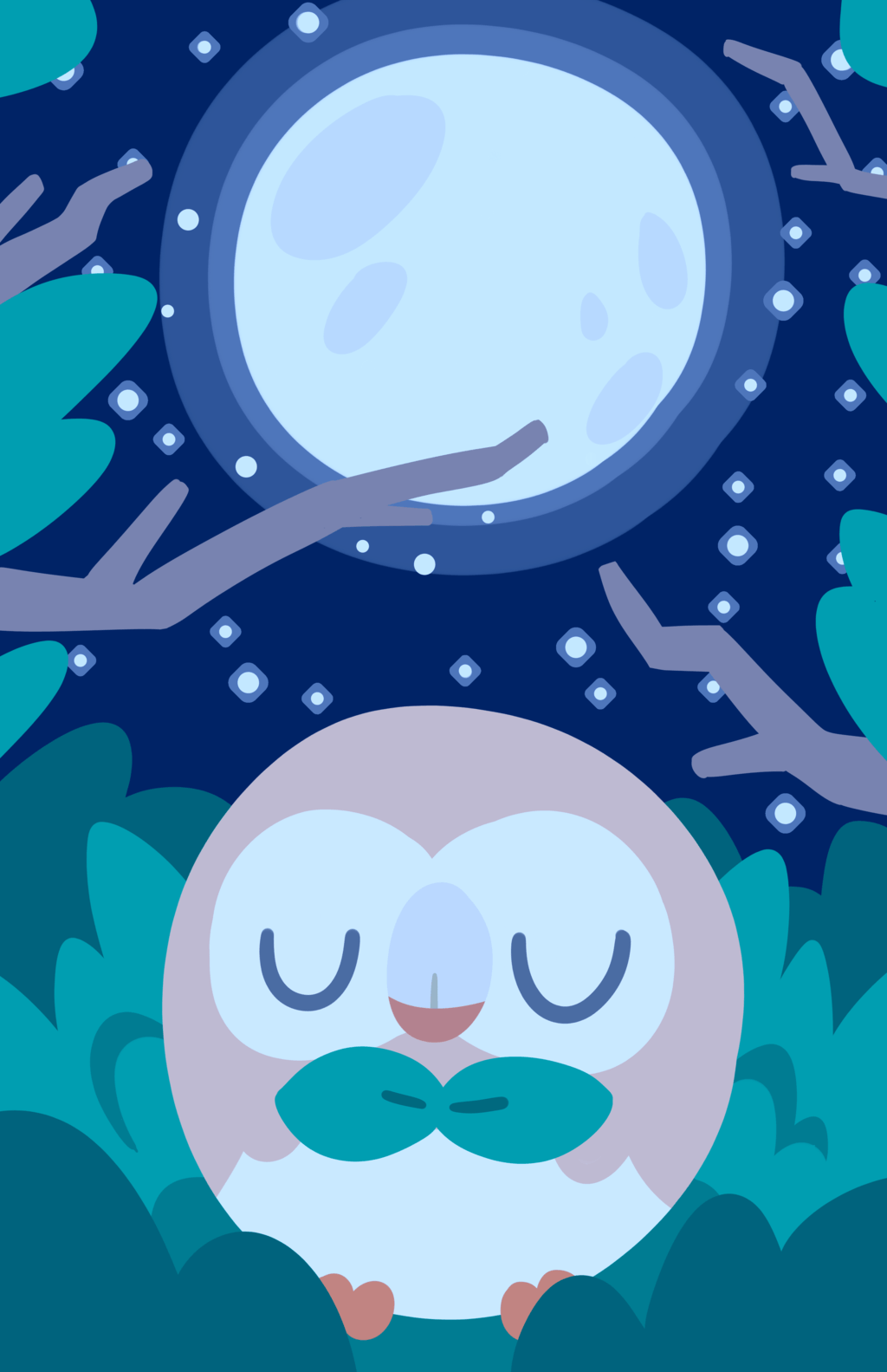 Upvote now! 999 upvotes and rowlet will wake up! #TeamRowlet : pokemon