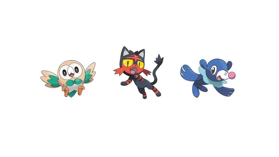 Popplio, Litten, Rowlet Pokemon Ultra S HD Wallpaper #162