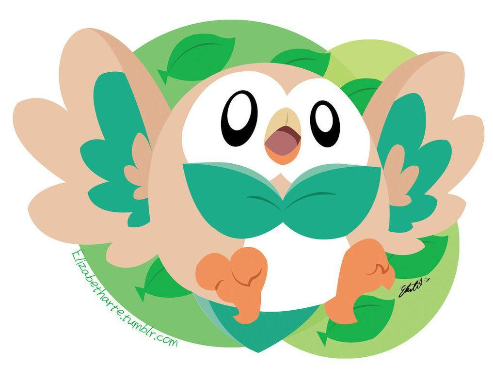 Rowlett by Elizabetharte on DeviantArt