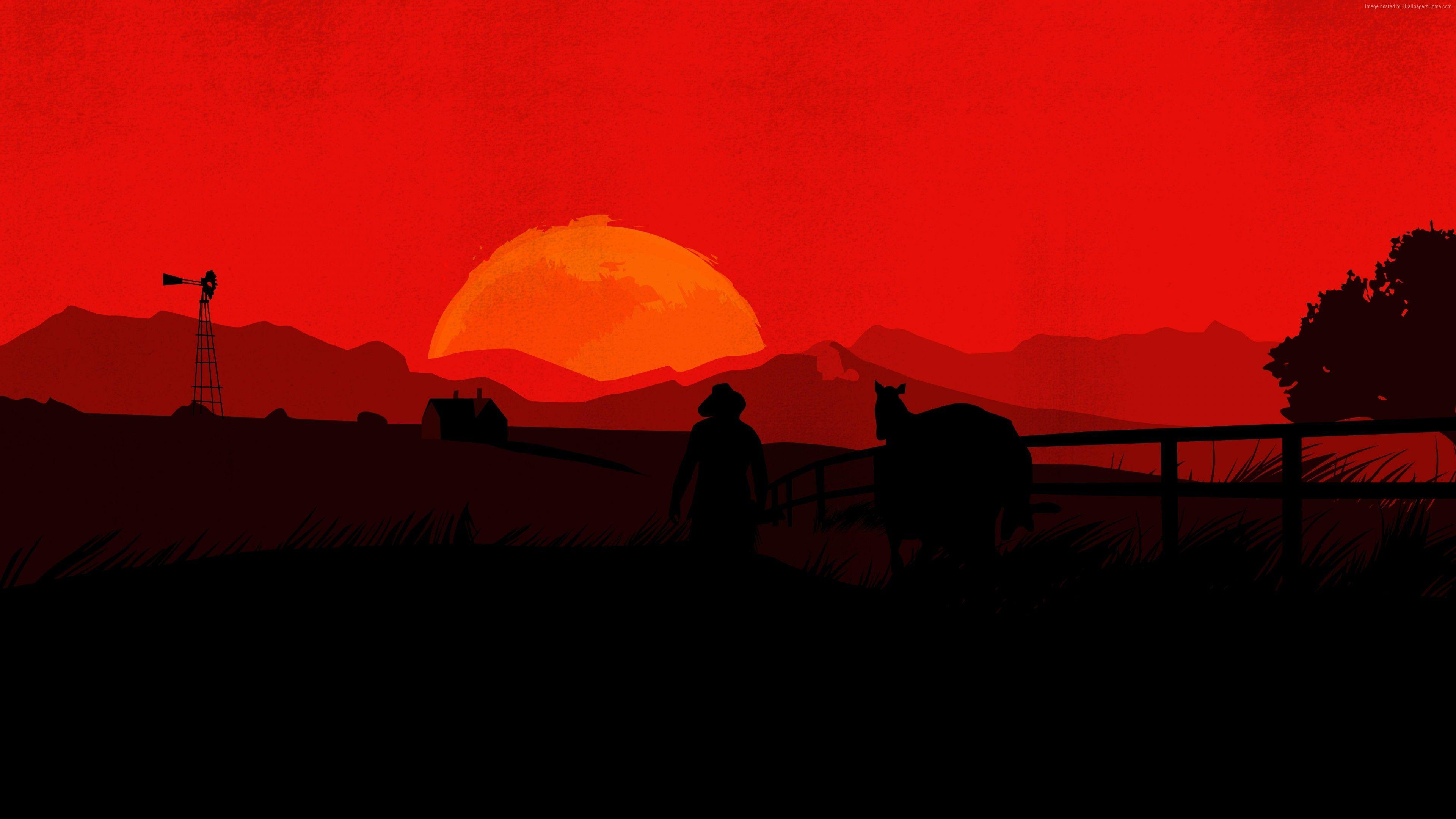 Red Dead Redemption 2 4k Wallpapers Wallpaper Cave