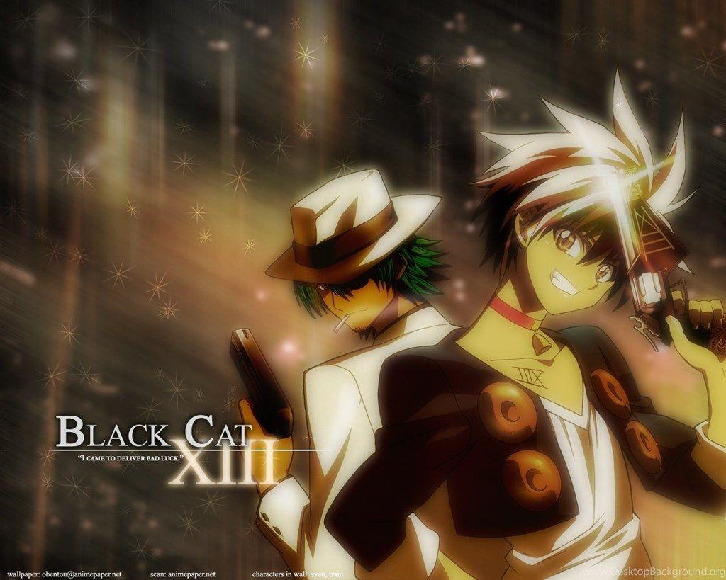 Black Cat Anime Wallpapers Wallpaper Cave