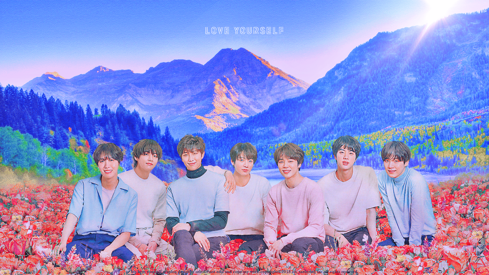 Bts Desktop Wallpaper Korean Idol