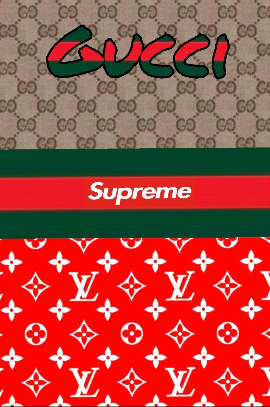 Supreme X Gucci Wallpapers Wallpaper Cave
