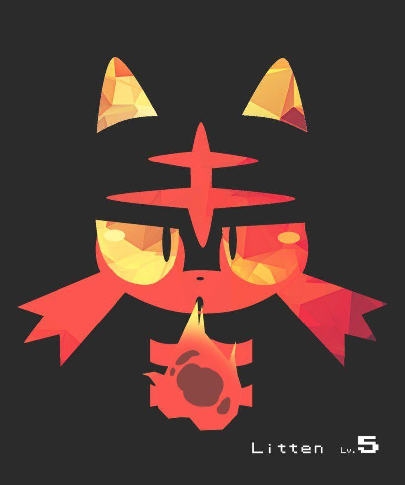 Litten is Lit images Litten HD wallpaper and background photos ...