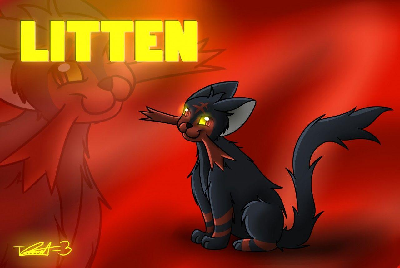 Digital = Litten Wallpaper by treecko-kun -- Fur Affinity [dot] net