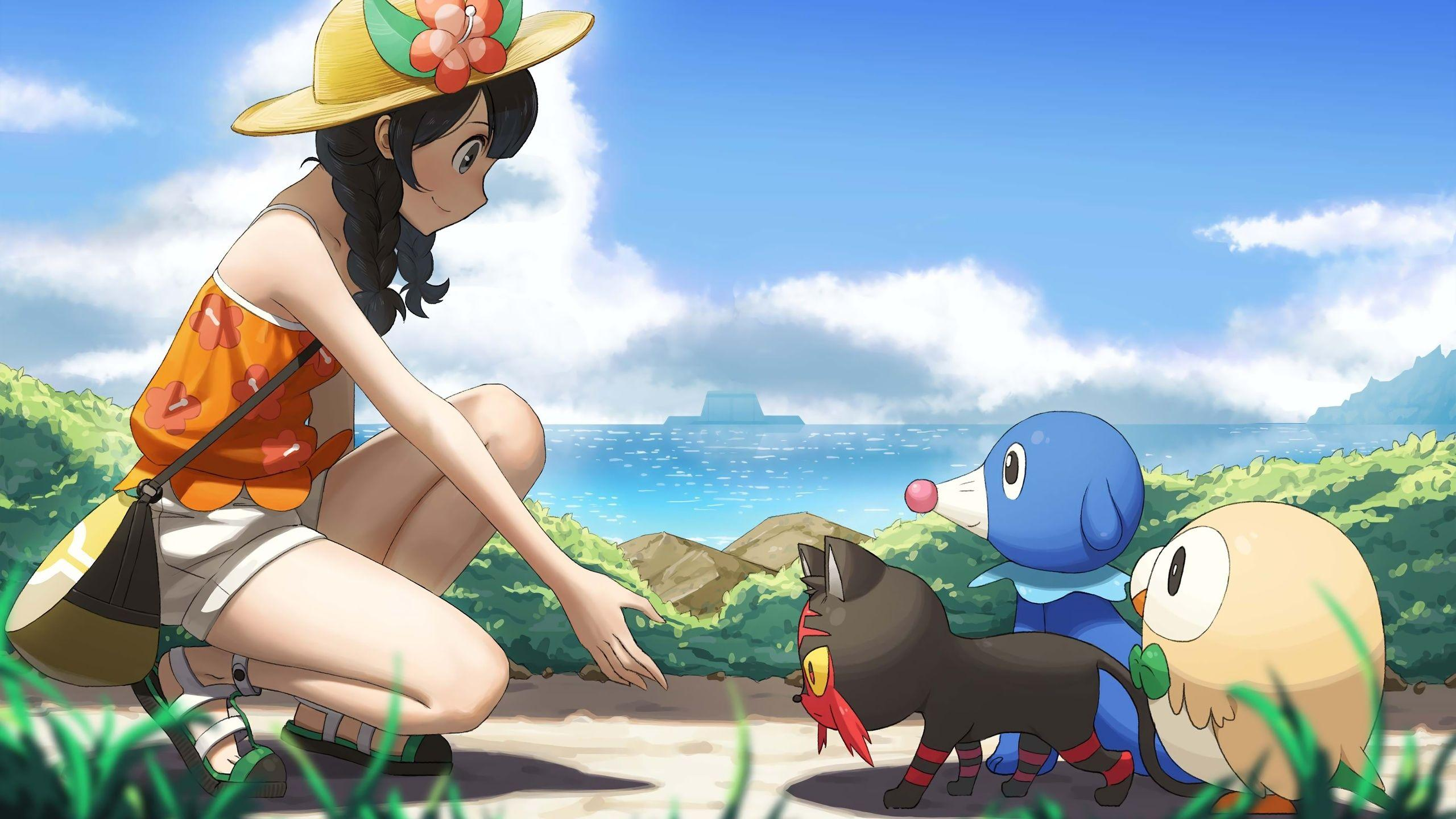 2560x1440 Pokemon Ultra Sun And Ultra Moon, Video Game, Video Game ...