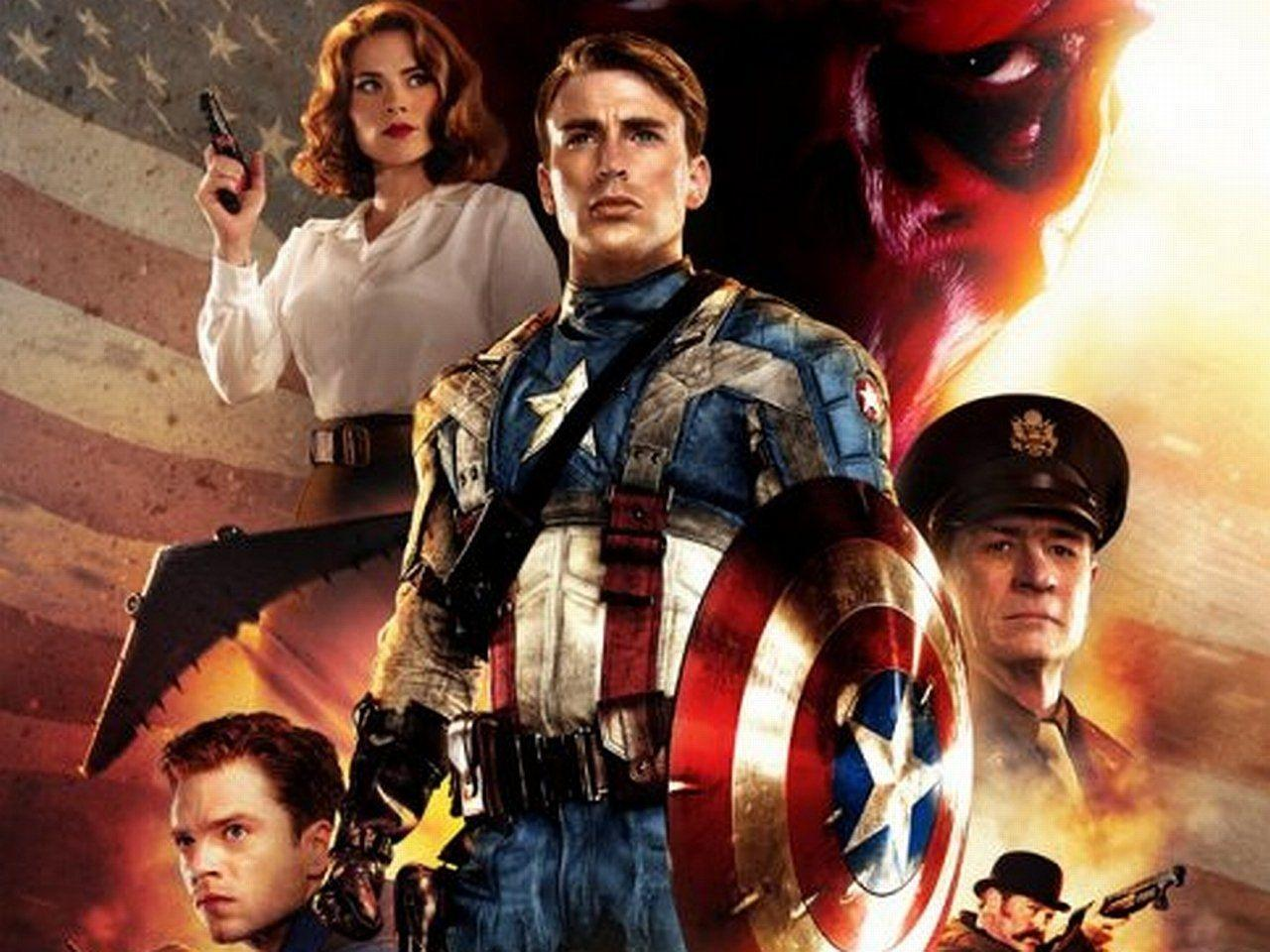 Captain America The First Avenger Wallpapers Wallpaper Cave