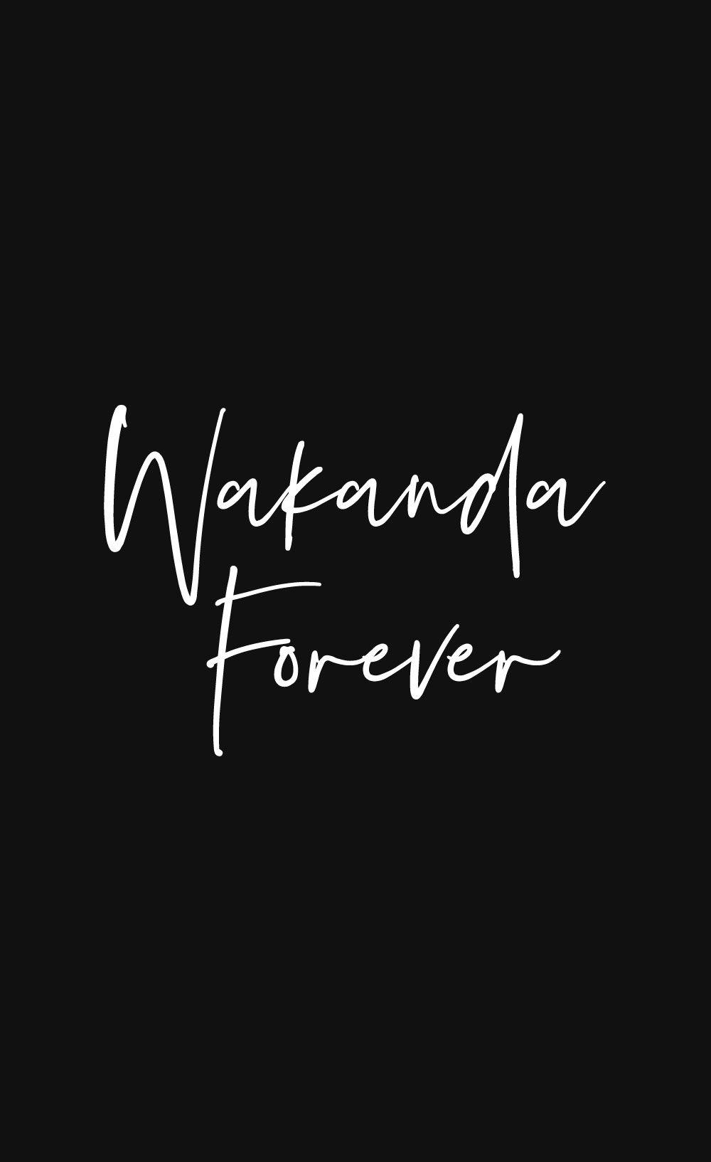 Wakanda Forever Wallpapers Wallpaper Cave
