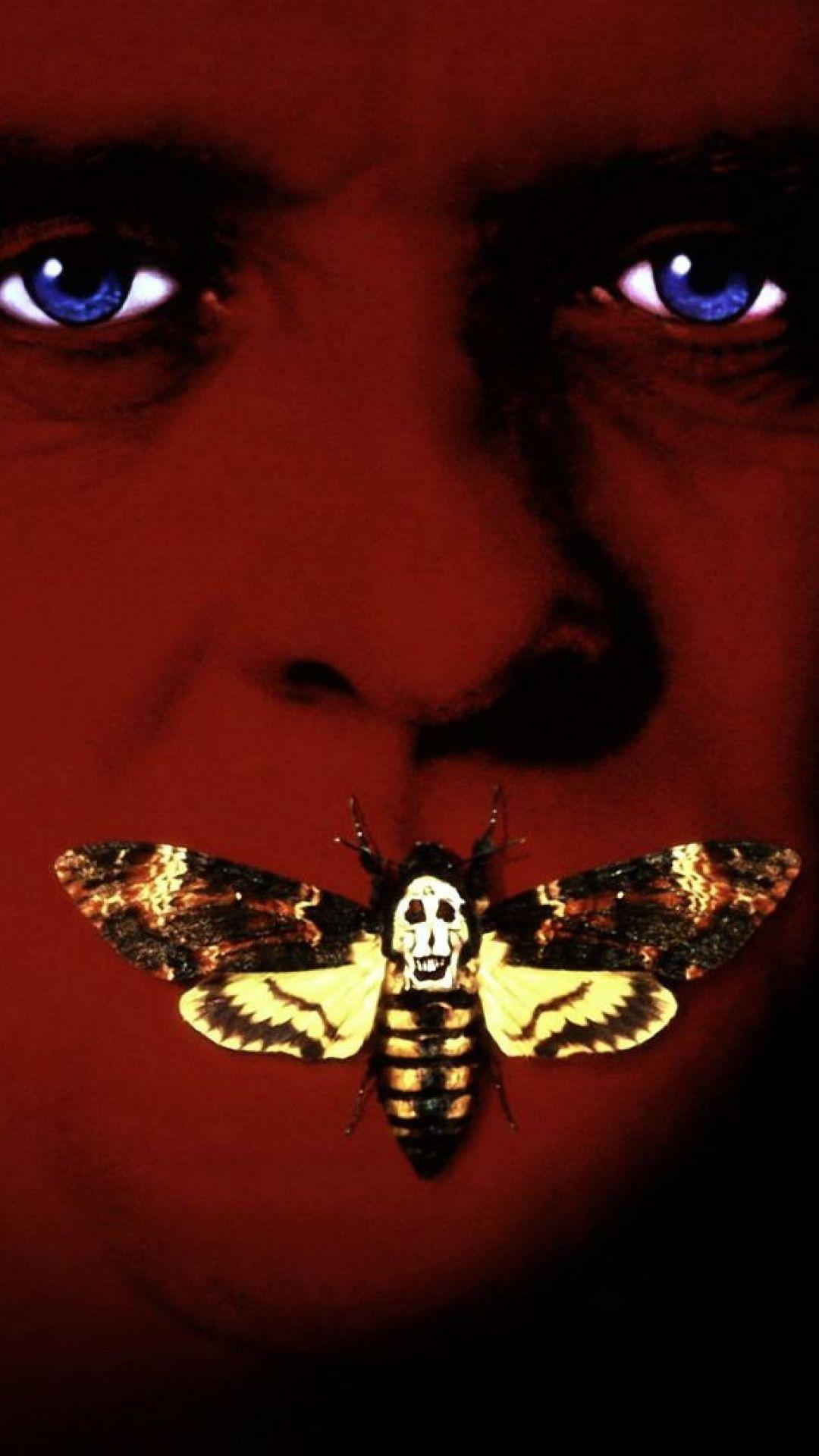 Download Wallpaper 1080x1920 The silence of the lambs, Butterflies ...
