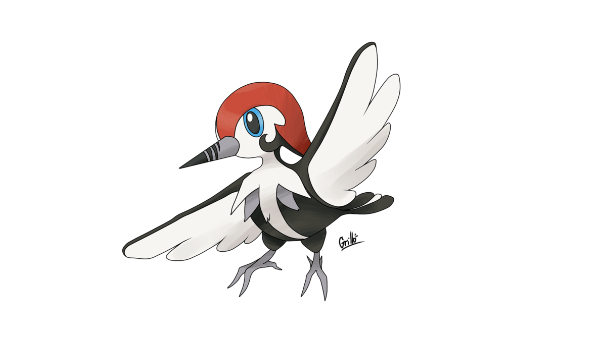 Pikipek Evolution by Grillo by GrilloGrillao
