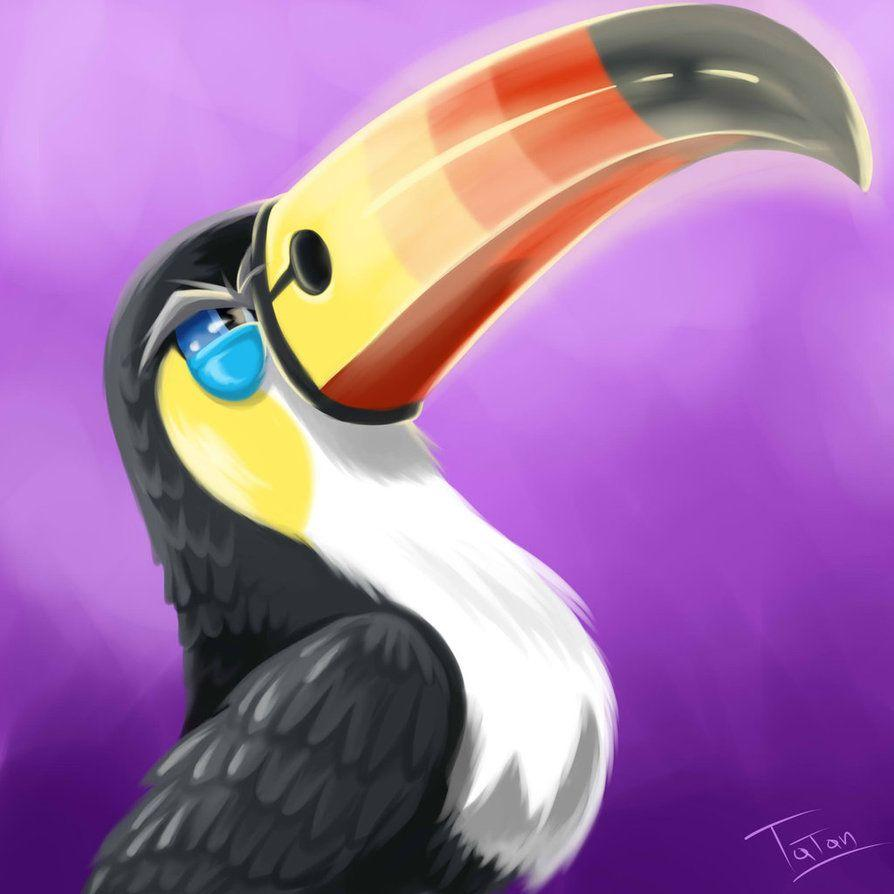 Toucannon Pokemon Sun Pokemon Moon by tatanRG